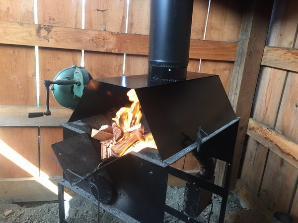 coal forge for sale. fullsize whitlox wood-fired forge hood coal for sale
