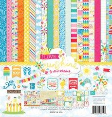 I Love Sunshine Mega Collection Kit by Echo Park.  Bonus embossing folder, Ephemra pack and washi tape.