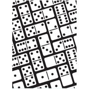 "Dominoes Background Embossing Folder (4.25""x5.75"") by Darice"