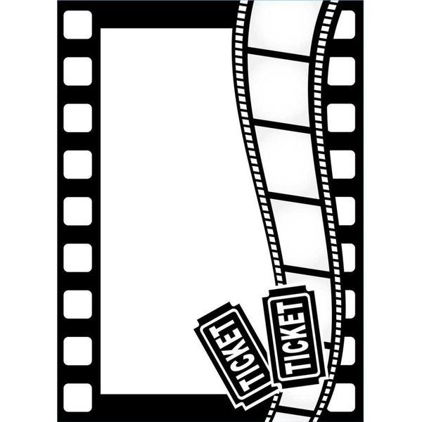 "Movie Theme Embossing Folder (4.25""x5.75"") by Darice"