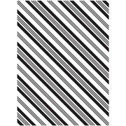 Diagonal Stripes - Darice Embossing Folder - 4.25 x 5.75 inches