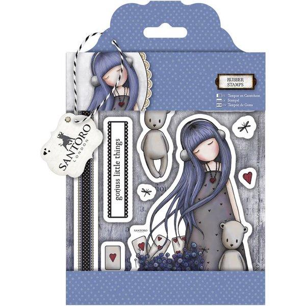 "Dear Alice Gorjuss Urban Stamps 127x165mm (5""X6.5"")"