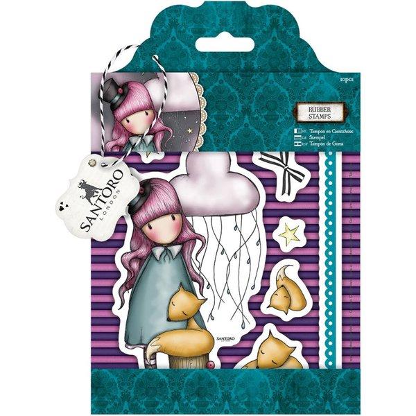 "The Dreamer Gorjuss Urban Stamps 127x165mm (5""X6.5"")"