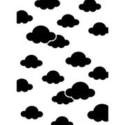 "Clouds Embossing Folder (4.25""x5.75"") by Darice"