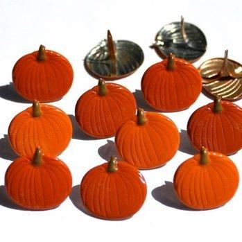 Pumpkin Brads (Halloween) by Eyelet Outlet