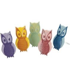 Owl brads by Eyelet Outlet