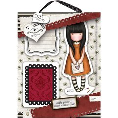 """I Gave You My Heart Gorjuss Urban Stamps 127x165mm (5""""X6.5"""")"""