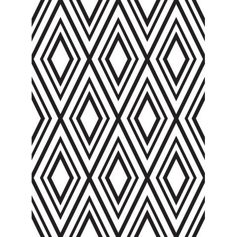 Diamond Background - Darice Embossing Folder - 4.25 x 5.75 inches