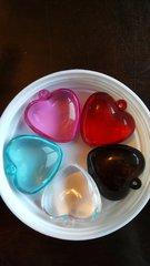 Heart Pendant Assortment 35mm (5pcs)