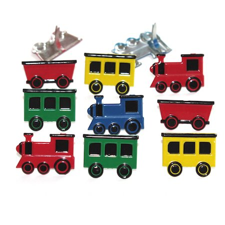 Coloured Train by Eyelet Outlet