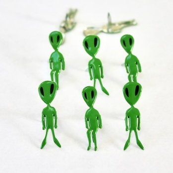 Alien Brads by Eyelet Outlet