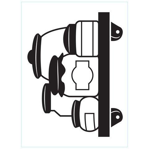 """Crock Jars Embossing Folder (4.25""""x5.75"""") by Darice"""