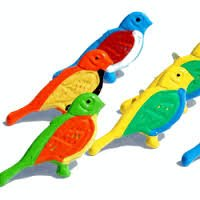 Bird (Exotic) brads by Eyelet Outlet