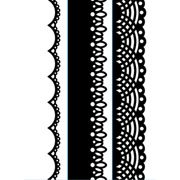 """Lace Trio (4.25""""x5.75"""") embossing folder by Darice"""