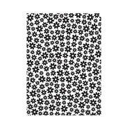 Mini Daisy Background - Darice Embossing Folder - 4.25 x 5.75 inches