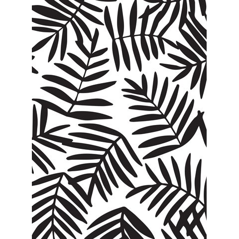 Ferns Background Embossing folder 4.25 x 5.75 by Darice