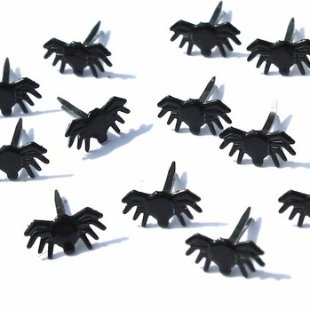 Mini Spider Brads (Halloween) by Eyelet Outlet