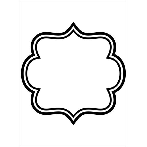 "Square Border Embossing Folder (4.25""x5.75"") by Darice"