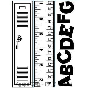 """School Pack trio (4.25""""x5.75"""") embossing folder by Darice"""