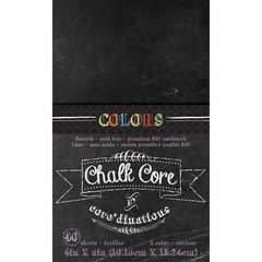 Core'dinations Chalk Core Cardstock -with Colour Core - 4x6 - 40 sheets