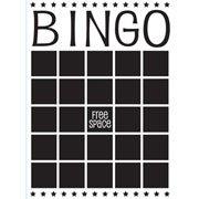 "Bingo Card Embossing Folder (4.25""x5.75"") by Darice"