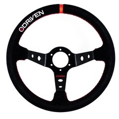 13.5 INCH SUEDE STEERING WHEEL DEEP DISH