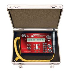 Longacre Deluxe Memory Tire Pyrometer With Stopwatch