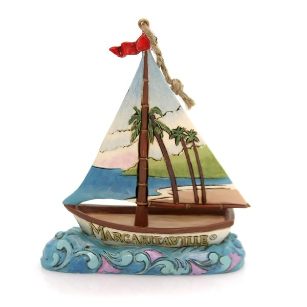 Jim Shore Margaritaville Sailboat Ornament