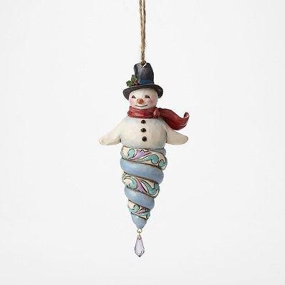 Jim Shore Icicle Snowman Ornament