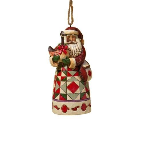 Jim shore Canadian Santa Ornament