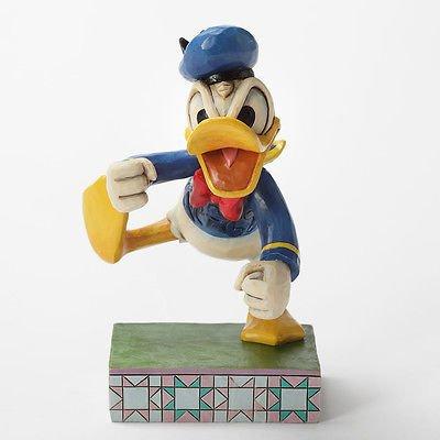"""Jim Shore Disney Traditions """"Fowl Temper"""" Donald Duck"""