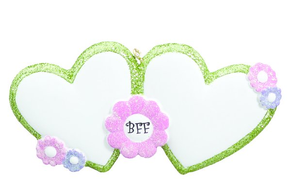 BFF PERSONALIZED ORNAMENT