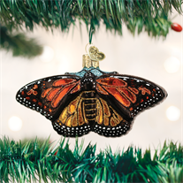OLD CHRISTMAS MONARCH BUTTERFLY