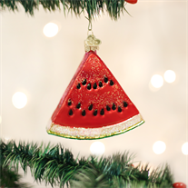 OLD WORLD CHRISTMAS WATERMELON WEDGE