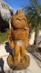 Full body Traditional Hawaiian Warrior