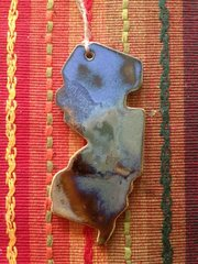 New Jersey Ornament (Pottery)
