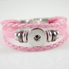 Leather Bracelet_KB0829-P