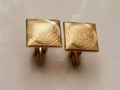 Wheat Stalk Cuff Links. Vintage Wheat Cufflinks.