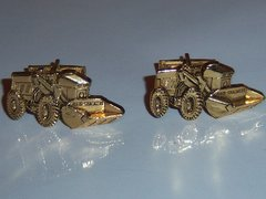 Construction Loader Vintage Cufflinks