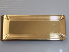 Vintage Money Clip In Gold Tone