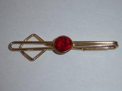 Red Vintage Tie Clip.