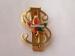 Vintage Montreal Souvenir. Dollar Sign Money Clip Accessory.