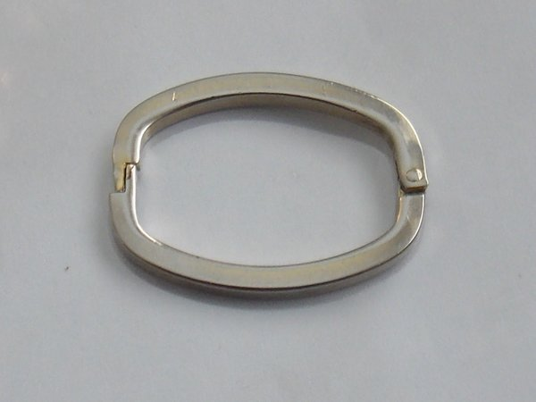 Plain Champagne Tie Ring.