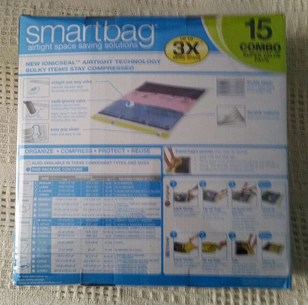 Smartbag airtight space saving solutions 15 Combo Super Value pack