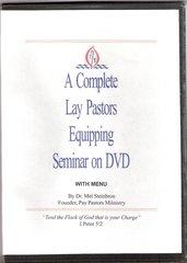 Lay Pastors Equipping Seminar on DVD