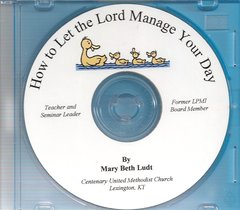 How to Let The Lord Manage Your Day