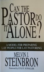 Can The Pastor Do It Alone? 10 or more copies of the same book