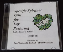 Spiritual Gifts for Lay Pastoring