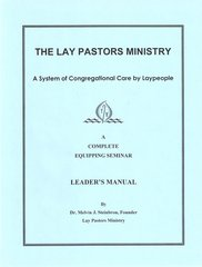 A Complete Equipping Seminar Leader's Manual in PDF Format