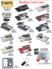 Business card holders trophy shop calgary engraving awards businesscredit card holders reheart Image collections